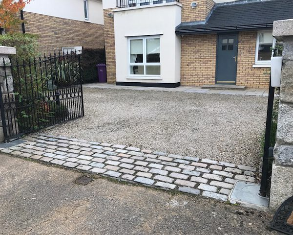 Driveway & Landscaping Project